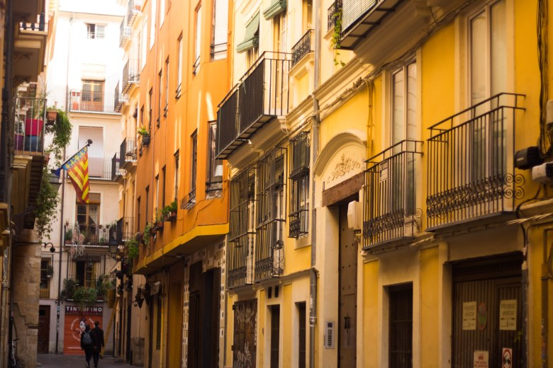 Valencia and its streets