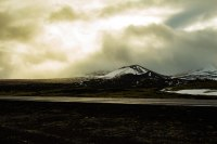 Iceland -the North-mountains-highway1-golden hour